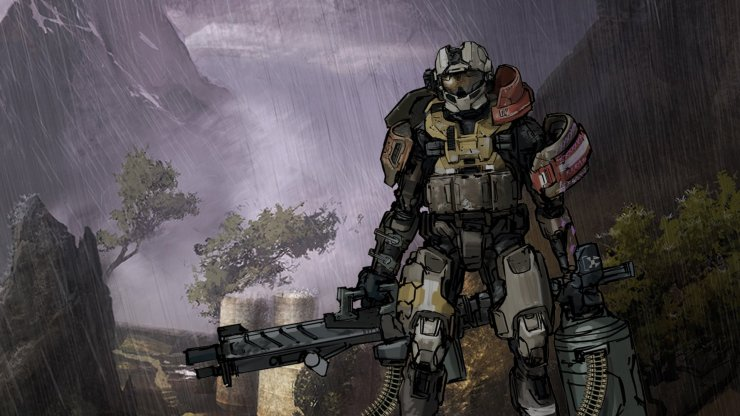 What Halo Reach Could Have Been Brendan Lor Lowry